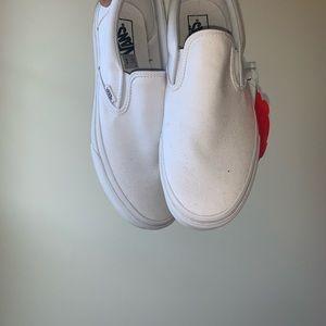 New White slip on vans!!!